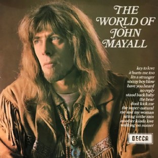 John Mayall ‎- The World Of John Mayall (LP) (EX-/VG-)